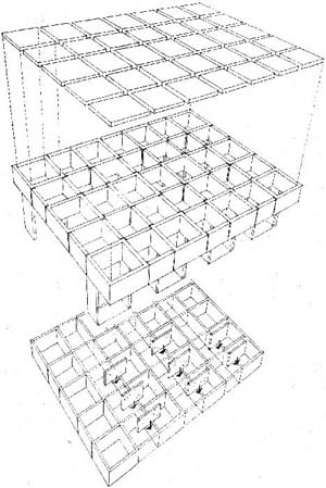 Open source architecture for Hormigon celular casero
